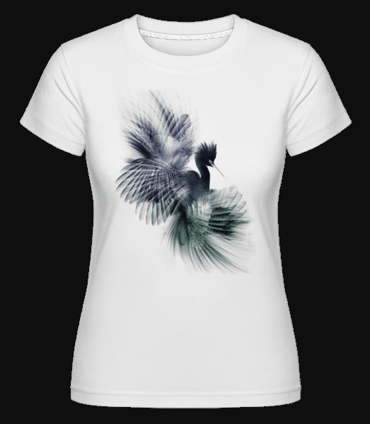 Fantasy Bird -  Shirtinator Women's T-Shirt - White - Vorn