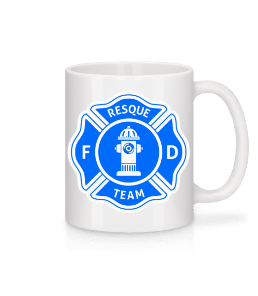 Resque Team - Mug - White - Vorn
