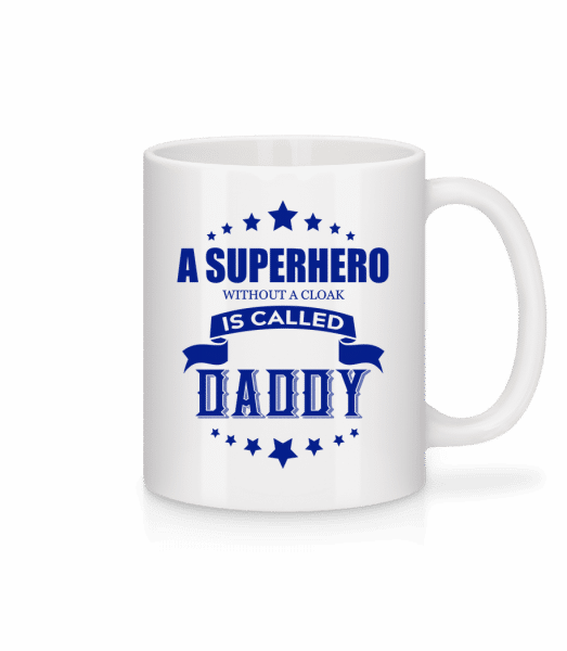 Superhero Without Cloak - Mug - White - Vorn