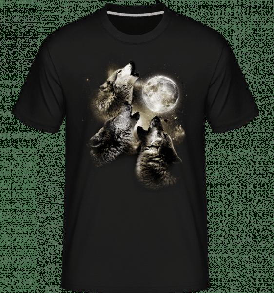 Wolf Moon -  Shirtinator Men's T-Shirt - Black - Vorn