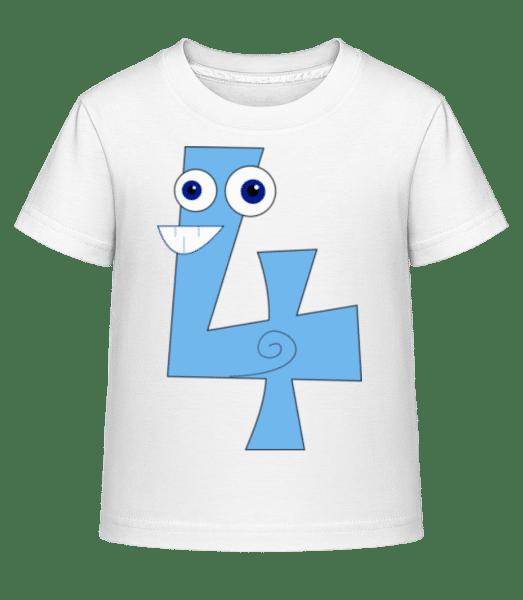 Fou Quatre - Kid's Shirtinator T-Shirt - White - Front