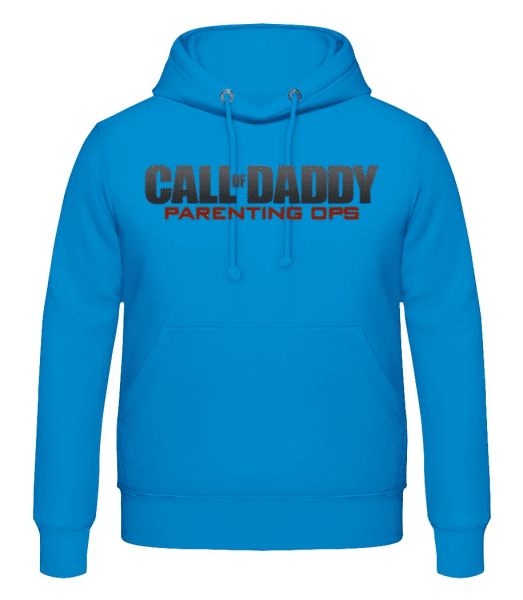 Call Of Daddy - Men's Hoodie - Light blue - Front