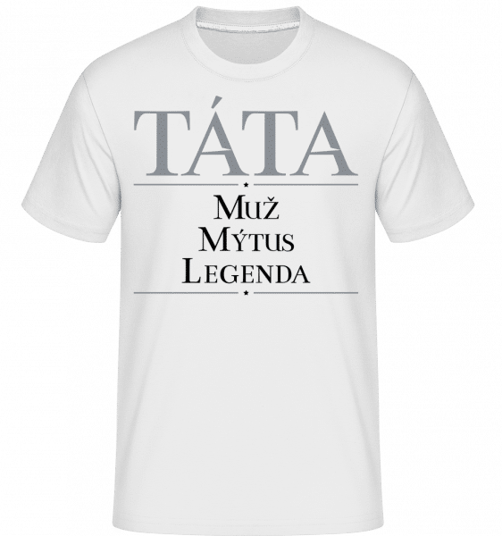 Tata Muz Mytus Legenda -  Shirtinator Men's T-Shirt - White - Front