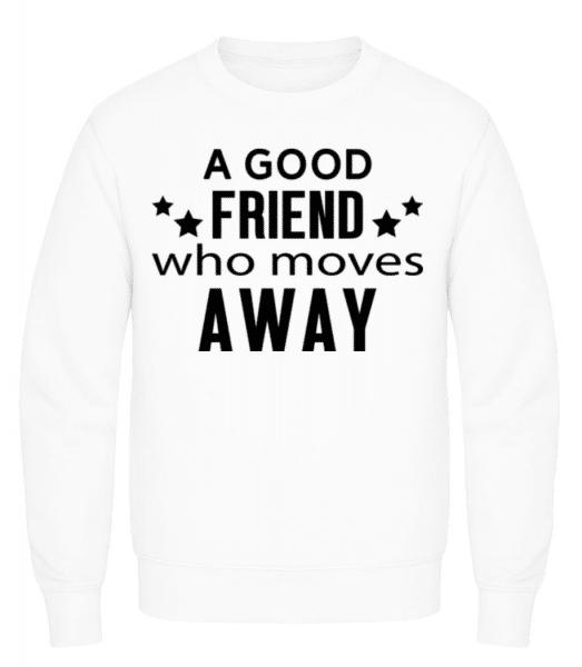 Friend Who Moves Away - Men's Sweatshirt - White - Front