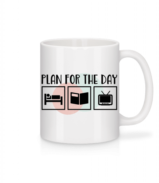 Plan For The Day - Mug - White - Vorn