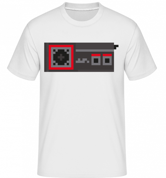 Consoles Controller Oldschool -  Shirtinator Men's T-Shirt - White - Front
