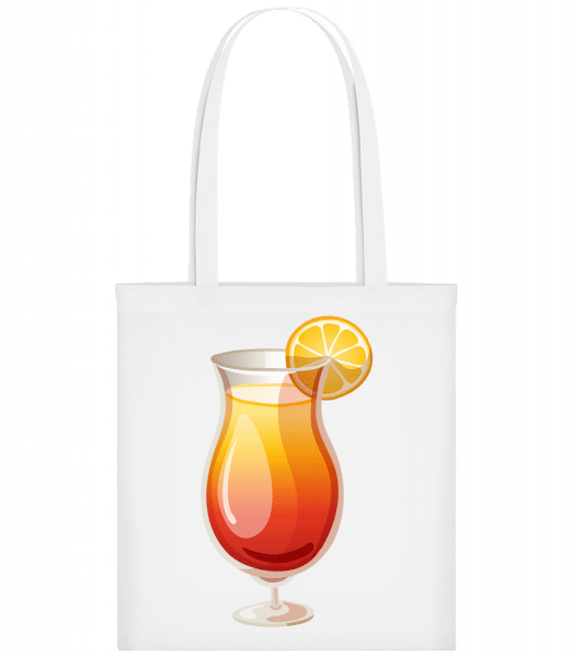 Cocktail Sex On The Beach - Carrier Bag - White - Vorn