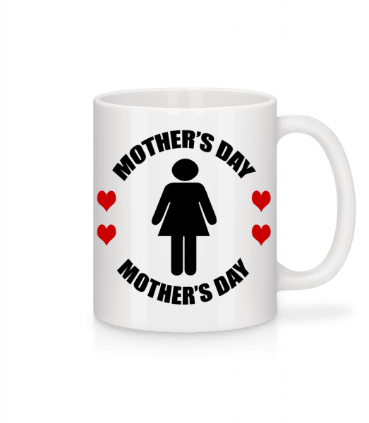 Mother's Day Logo - Mug - White - Vorn