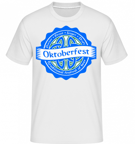 Traditional Festival Of Beer -  Shirtinator Men's T-Shirt - White - Front