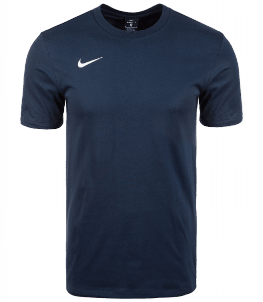 Nike Men's Team Club 19 Tee - Navy - Front