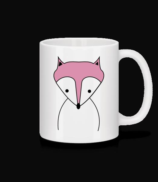 Cute Fox - Mug - White - Vorn