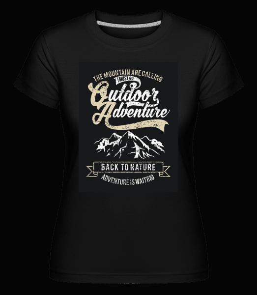 Outdoor Adventure -  Shirtinator Women's T-Shirt - Black - Vorn