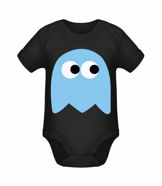 Computer Game Monster - Organic Baby Body - Black - Vorn