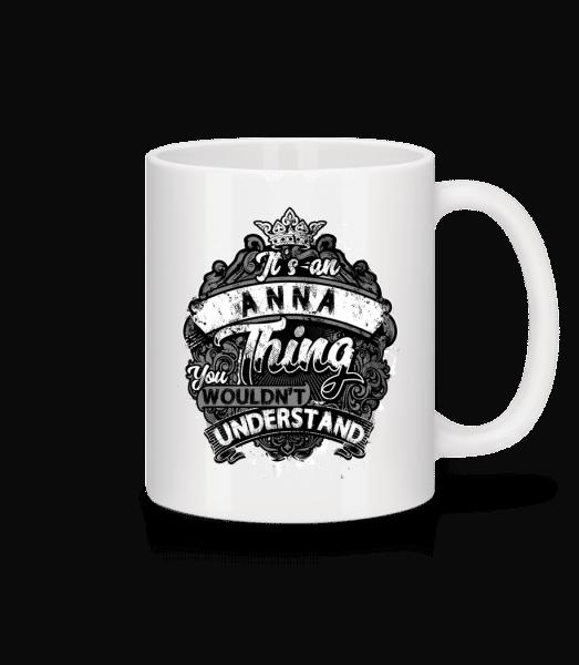 It's An Anna Thing - Mug - White - Vorn