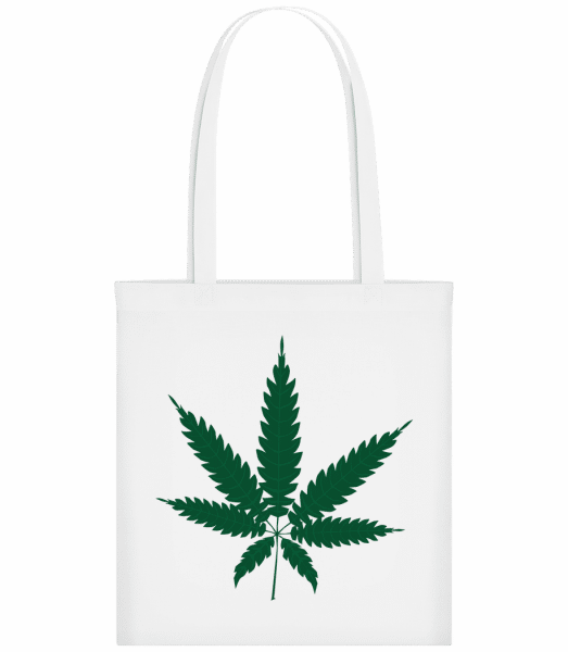 Cannabis - Carrier Bag - White - Vorn