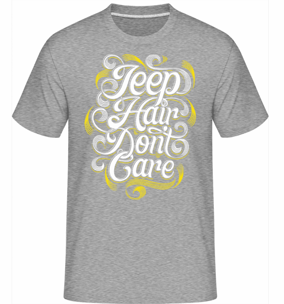 Jeep Hair Dont Care 2 -  Shirtinator Men's T-Shirt - Heather grey - Vorn