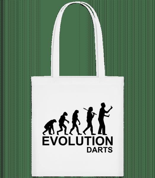 Darts Of Evolution - Carrier Bag - White - Vorn