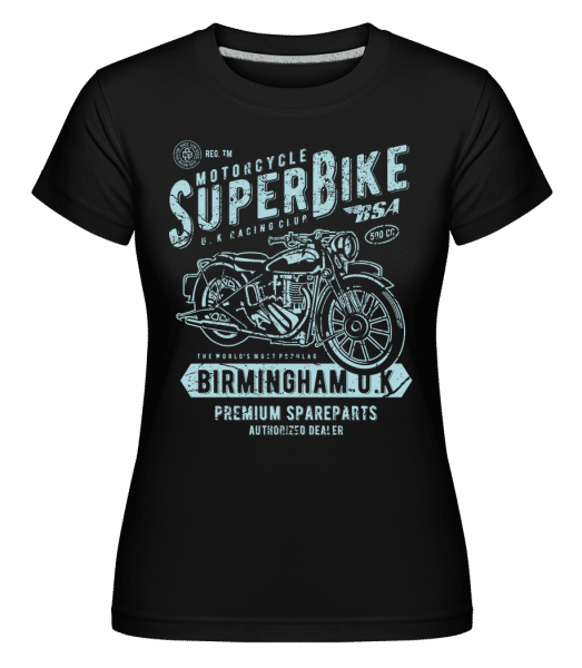 Super Bike -  Shirtinator Women's T-Shirt - Black - Vorn