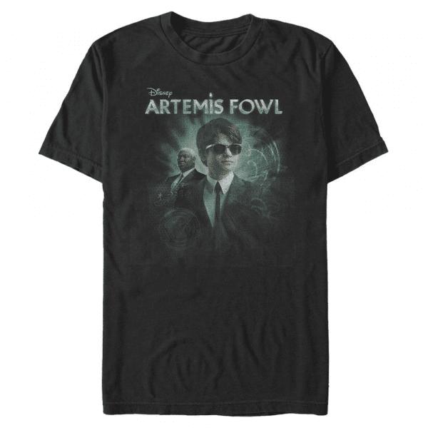 Smart Artemis - Disney Artemis Fowl - Men's T-Shirt - Black - Front