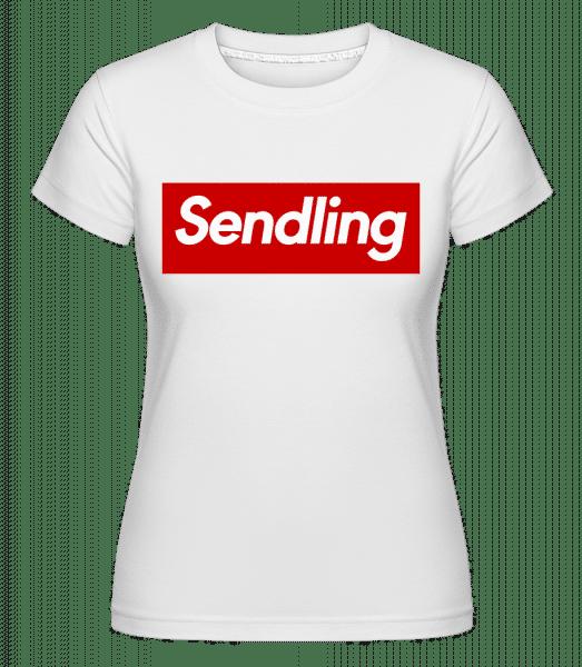Sendling - Shirtinator Frauen T-Shirt - Weiß - Vorn