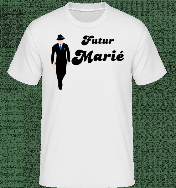 Futur Marié -  T-Shirt Shirtinator homme - Blanc - Vorn