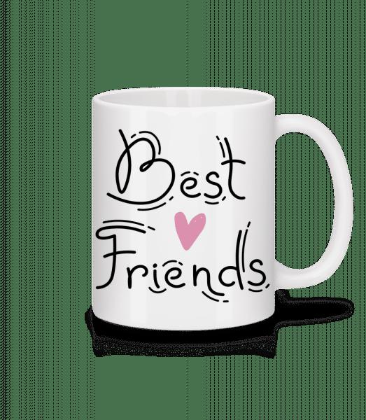Best Friends - Mug - White - Vorn