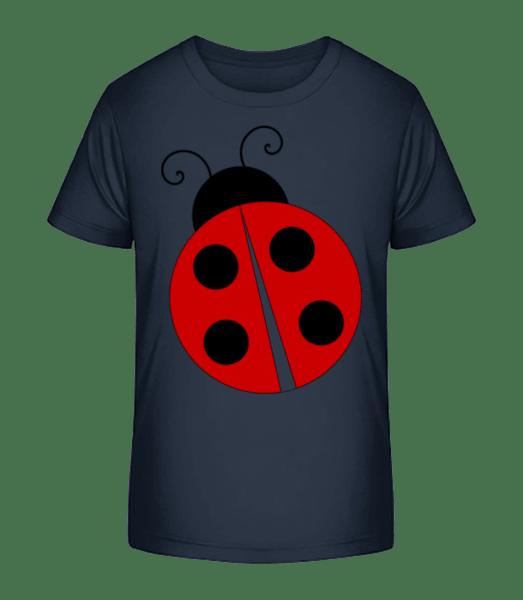 Ladybug - Kid's Premium Bio T-Shirt - Navy - Front