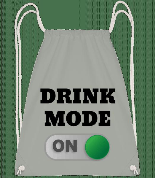 Drink Mode On - Drawstring Backpack - Anthracite - Vorn