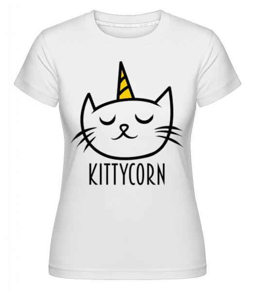 Kittycorn -  Shirtinator Women's T-Shirt - White - Front