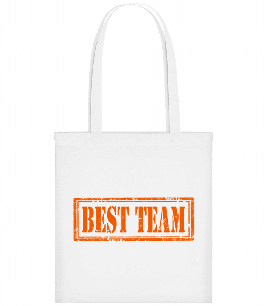 Best Team Sign - Sac tote - Blanc - Devant