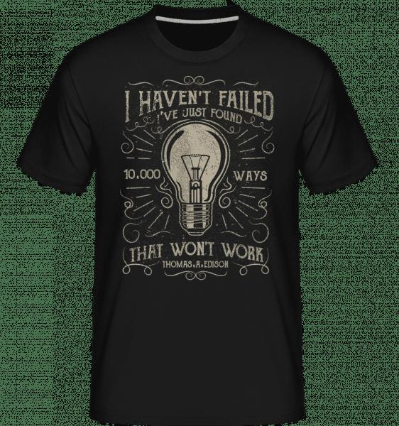 10000 Ways -  Shirtinator Men's T-Shirt - Black - Front