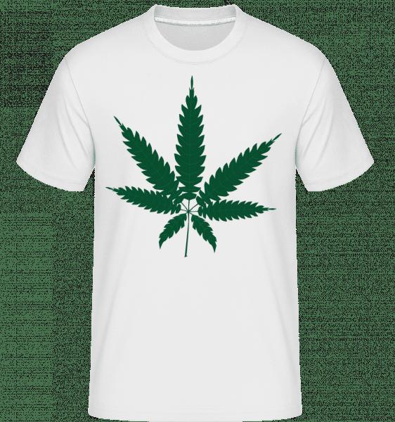 Cannabis -  Shirtinator Men's T-Shirt - White - Front