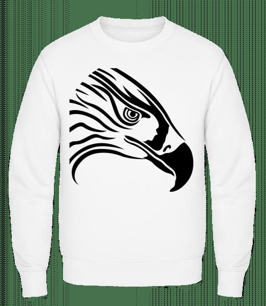 Bird - Classic Set-In Sweatshirt - White - Vorn
