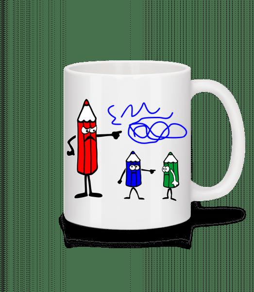 It's The Blue Ones Fault - Mug - White - Vorn