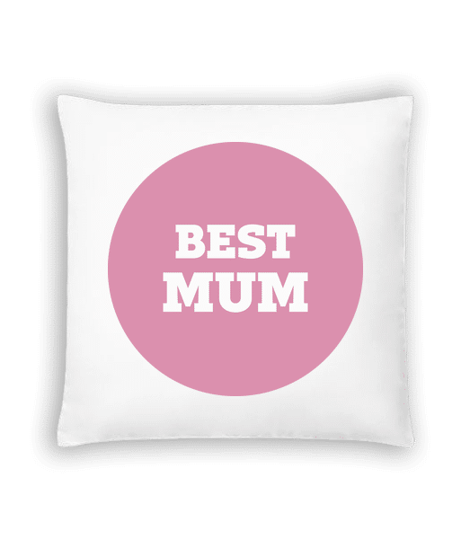 nejlepší Mum - Polštář - Bílá - Napřed