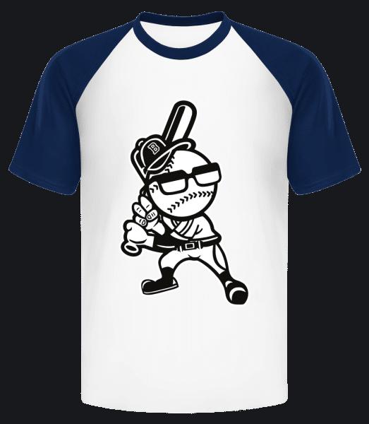 Brooklyn Baseball - Men's Baseball T-Shirt - White - Vorn