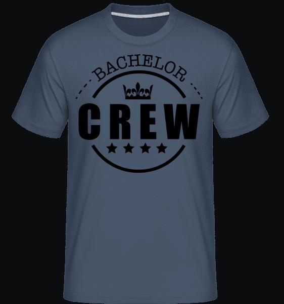 Bachelor Crew -  Shirtinator Men's T-Shirt - Denim - Vorn