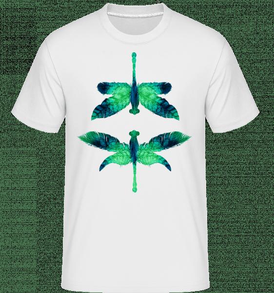 Leaf Dragonfly -  Shirtinator Men's T-Shirt - White - Vorn