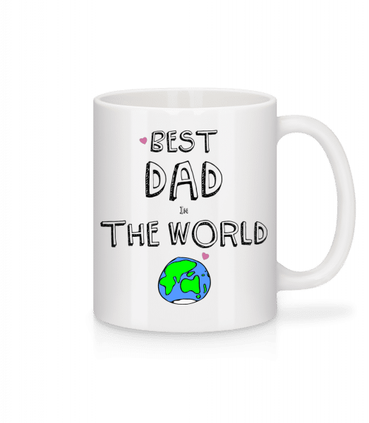 Best Dad In The World - Tasse - Weiß - Vorn
