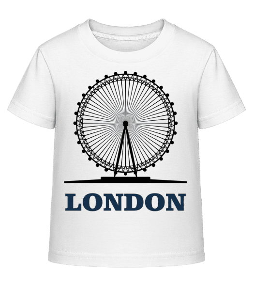 London Skyline - Kid's Shirtinator T-Shirt - White - Vorn