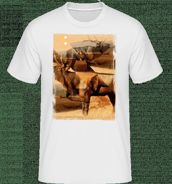 Deer Creative -  Shirtinator Men's T-Shirt - White - Vorn