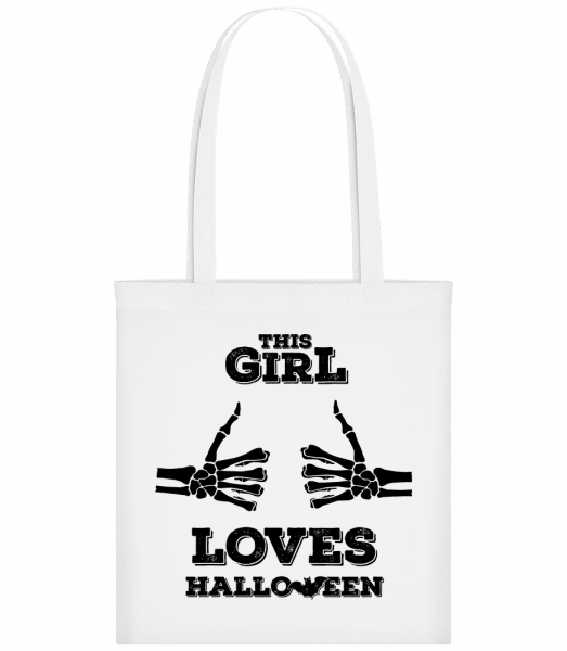 This Girl Loves Halloween - Sac tote - Blanc - Devant