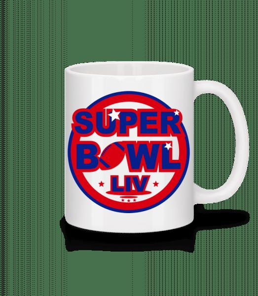 Super Bowl LIV - Tasse - Weiß - Vorn
