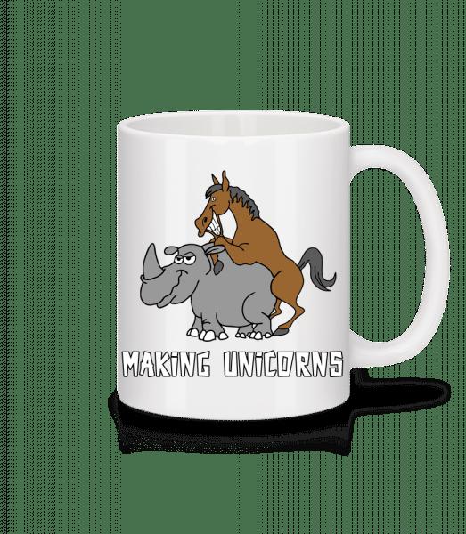 Making Unicorns - Mug - White - Vorn