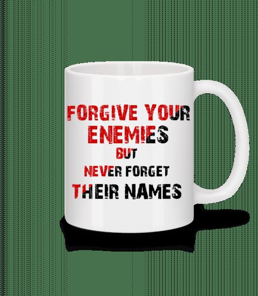 Forgive Your Enemies - Mug - White - Front