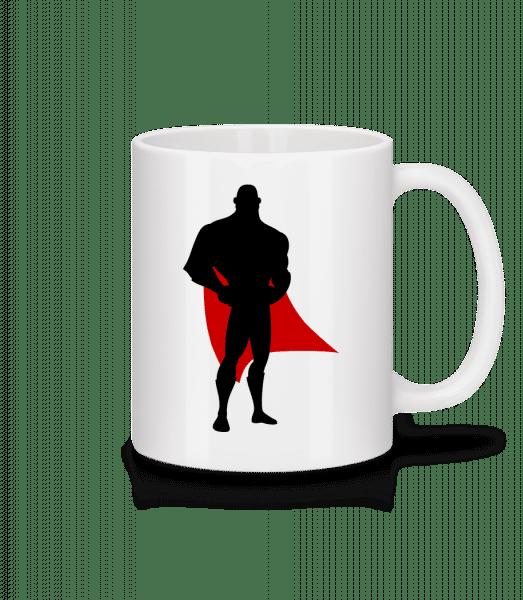 Superhero Dad - Mug - White - Vorn