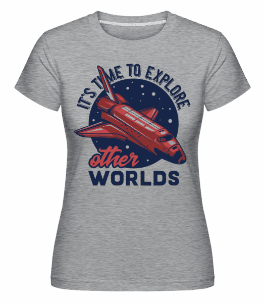 Its Time To Explore -  Shirtinator Women's T-Shirt - Heather grey - Vorn