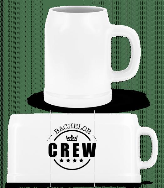 Bachelor Crew - Beer Mug - White - Vorn