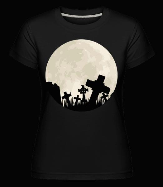 Gothic Scenery Circle -  Shirtinator Women's T-Shirt - Black - Vorn