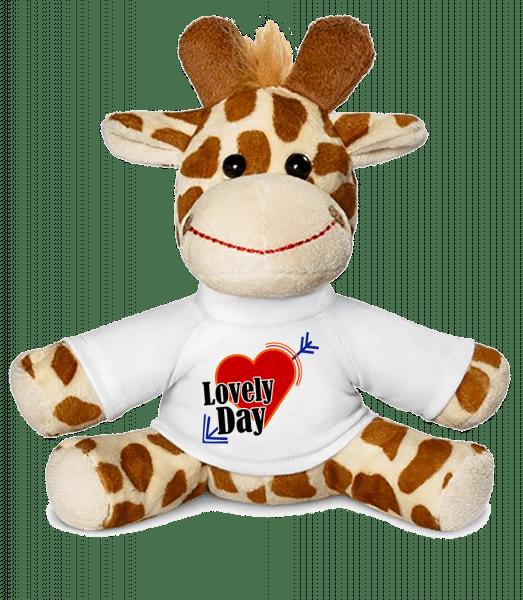 Lovely Day - Giraffe - White - Vorn